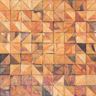 Vieux carreaux de mur en faïence vintage