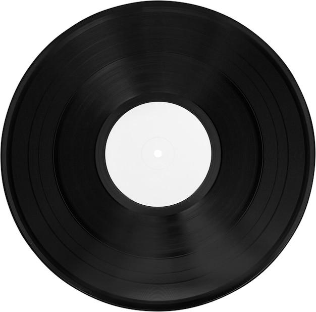 Vieux disque vinyle, vue rapprochée