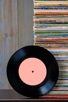 Vieux disque vinyle