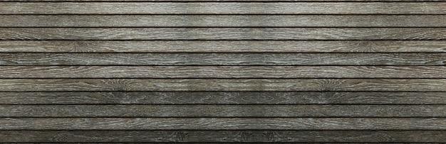 Vieux fond de bannière de texture bois