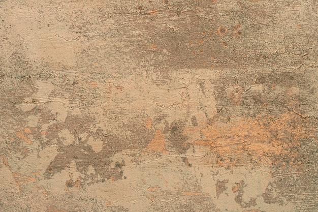 Vieux fond de béton marron