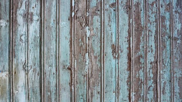 Vieux fond en bois bleu de l'eau
