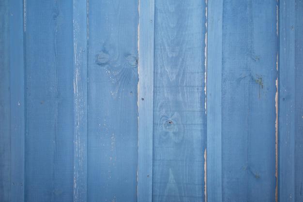 Vieux fond en bois bleu