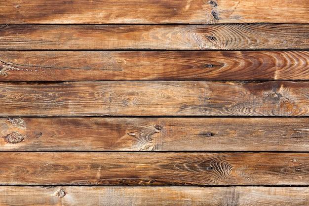 Vieux fond de bois brun vintage