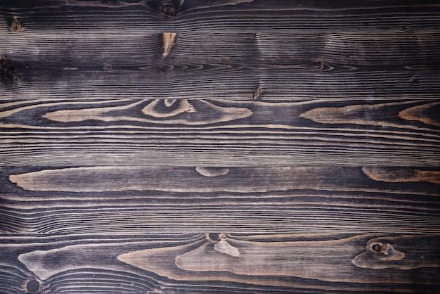 Vieux fond de bois foncé rustique vintage vue de dessus copie espace mur de texture pure