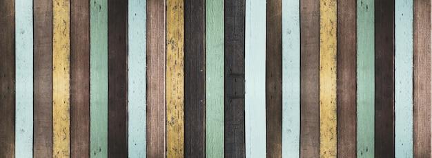 Vieux fond en bois peint et texture.