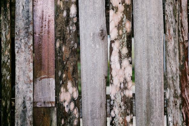 Vieux fond de bois avec style naturel