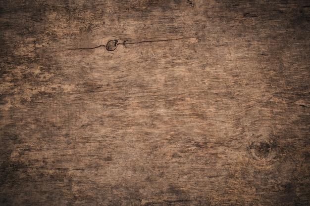 Vieux fond en bois texturé grunge. la surface de la texture du bois brun ancien.