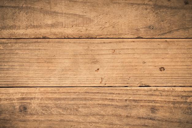 Vieux fond en bois texturé sombre grunge, la surface de la vieille texture en bois brun, vue de dessus lambris en bois de teck brun