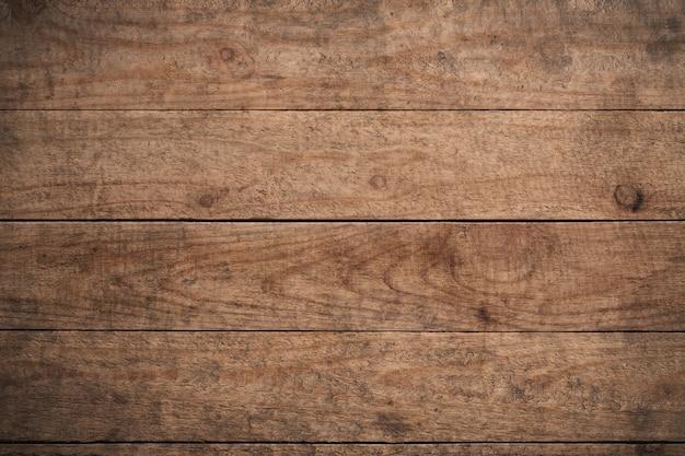 Vieux fond en bois texturé sombre grunge, la surface de la vieille texture en bois brun