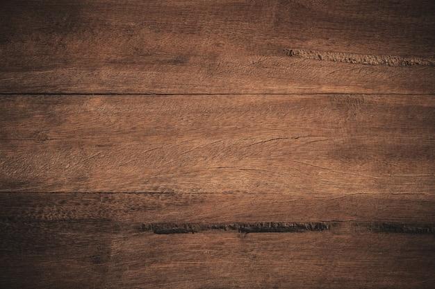 Vieux fond en bois texturé sombre grunge.