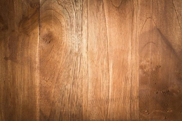 Vieux fond de bois texturé sombre grunge