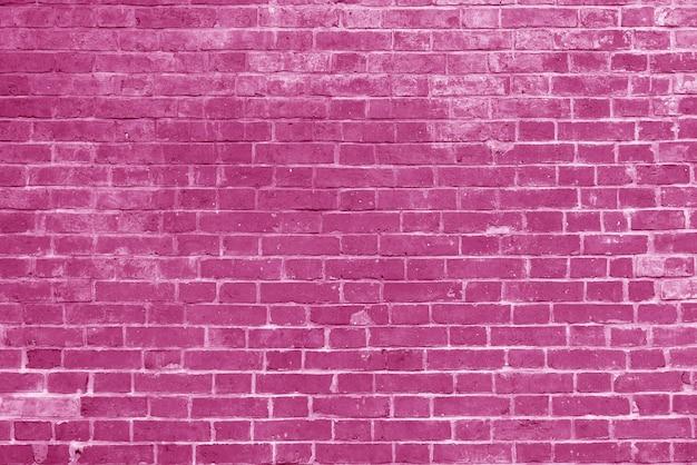 Vieux fond d'écran de texture de mur de brique rose