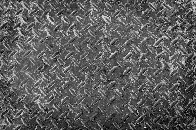 Vieux fond métallique en acier