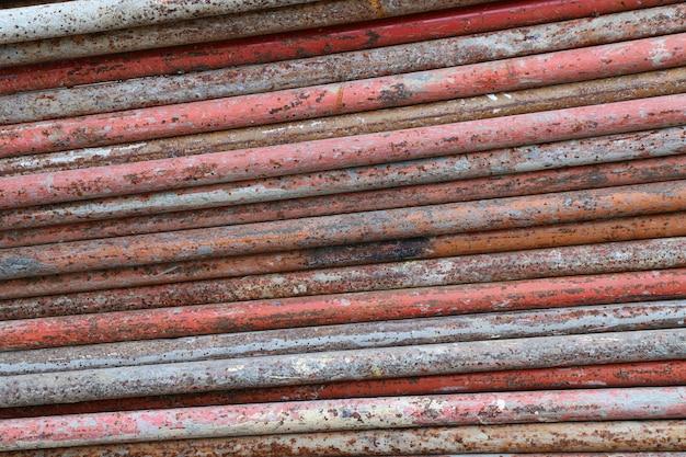 Vieux fond métallique