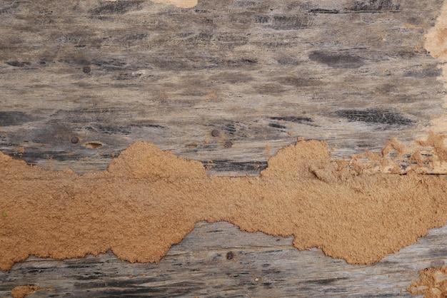 Vieux fond de mur en bois