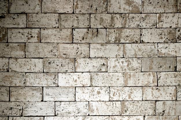Vieux fond de mur de brique. fond d'écran texture grunge.