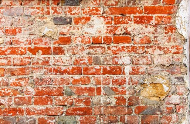 Vieux fond de mur de brique ou de texture.