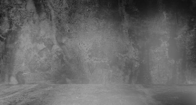 Vieux fond noir. texture grunge. fond d'écran sombre. tableau noir tableau béton.