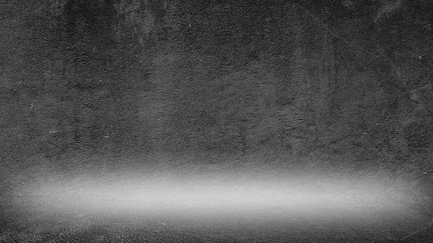 Vieux fond noir. texture grunge. fond d'écran sombre. tableau noir tableau béton