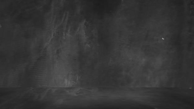 Vieux fond noir. texture grunge. tableau noir. tableau noir. béton.