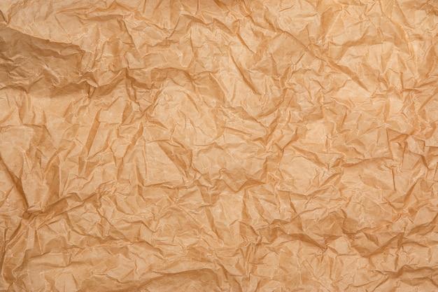 Vieux fond de papier froissé