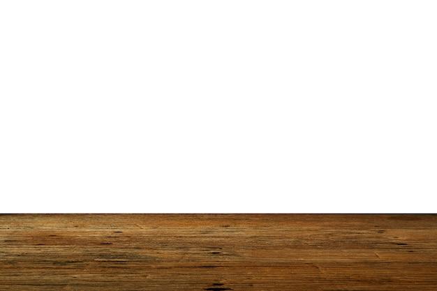 Vieux fond de table en bois brun foncé