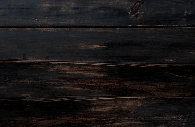 Vieux fond de texture de bois sombre avec un espace pour le texte.