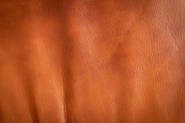 Vieux fond de texture de cuir marron.