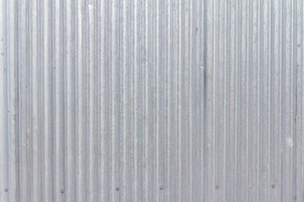 Vieux fond de texture de feuille galvanisée