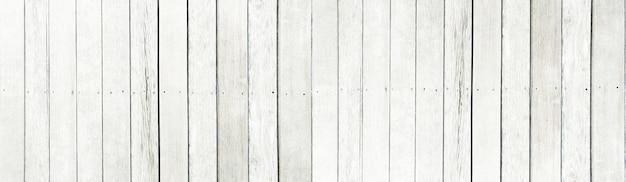 Le vieux fond de texture de lattes de bois blanc