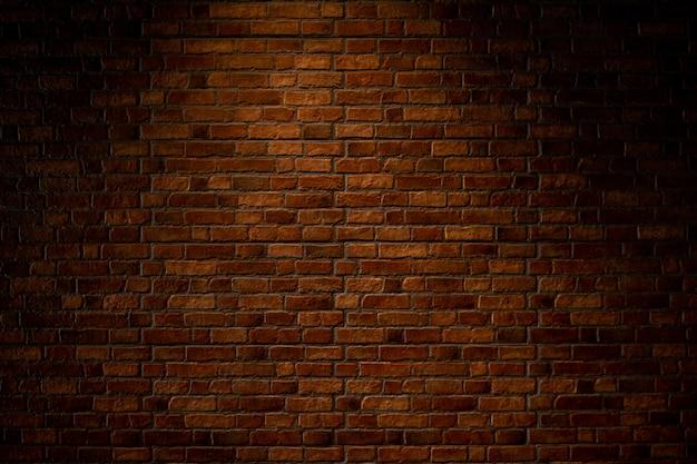 Vieux fond de texture de mur de brique brun rouge foncé.