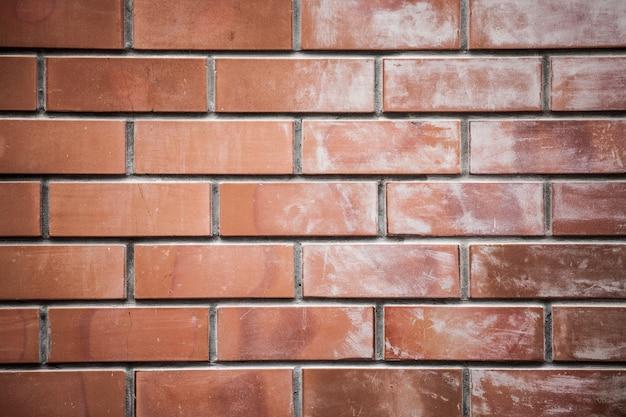 Vieux fond de texture de mur de brique, le motif peut être utilisé pour le papier peint ou le mur de peau