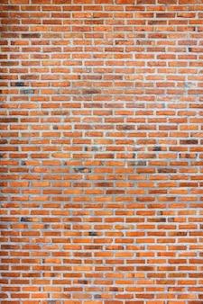Vieux fond de texture de mur de brique rouge grunge rétro vintage