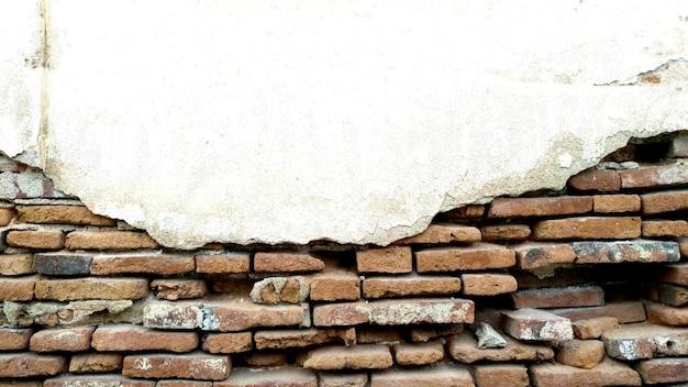 Vieux fond de texture de mur de brique