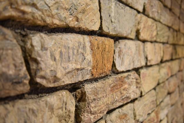 Vieux Fond De Texture De Mur De Brique Photo Premium