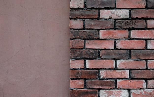 Vieux fond de texture de mur de briques grunge