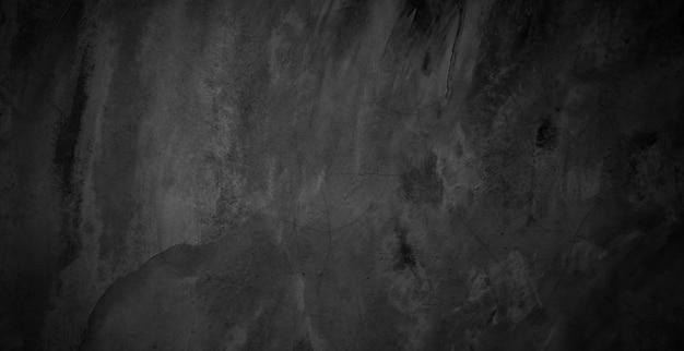 Vieux fond de texture de mur de ciment grunge noir