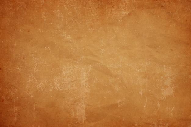 Vieux fond de texture de papier brun vintage agglutiné, papier kraft horizontal avec un design unique de papier, style de papier naturel doux pour un design créatif esthétique