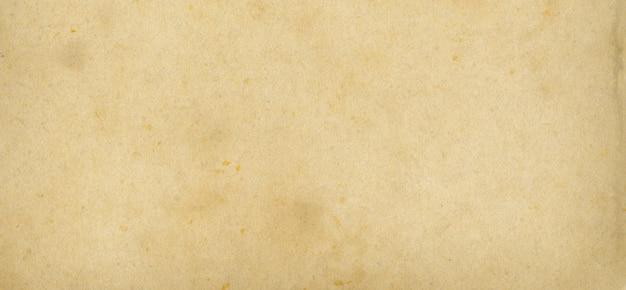 Vieux fond de texture de papier parchemin. papier peint bannière vintage