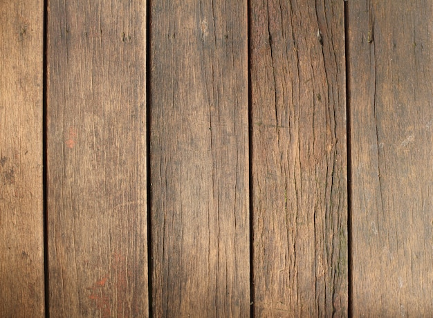Vieux fond texturé de planche de bois naturel