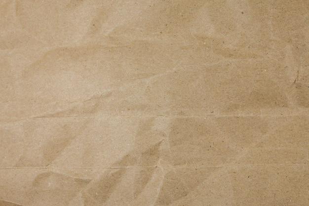 Vieux fond de texture sac papier froissé déchiré.