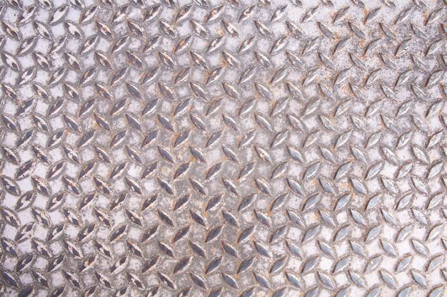 Vieux fond de texture de sol en acier.