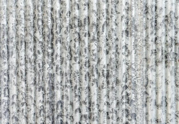 Vieux fond de texture de tôle galvanisée