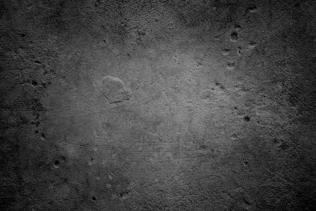 Vieux fond de textures de mur sombre ou en béton de ciment.