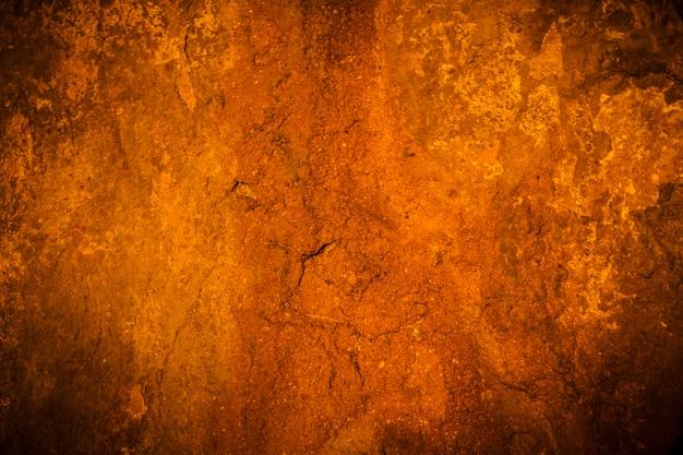 Vieux fond de vignette de mur de ciment et noir