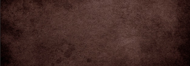 Vieux fond vintage de papier brun avec texture de couleur café foncé, fond abstrait brun antique pour bannière de site web