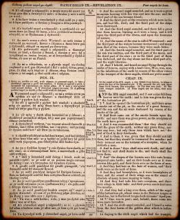 Vieux gallois bible passage