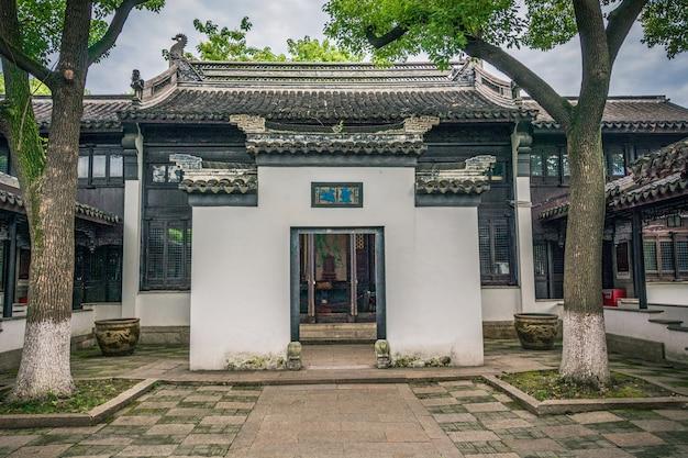 Vieux jardin de porcelaine
