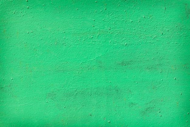 Vieux métal peint vert